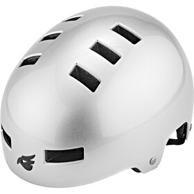 bluegrass Super Bold Dirt-Helmet metallic silver